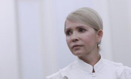 Ми домагаємося зміни стратегії держави, – Юлія Тимошенко