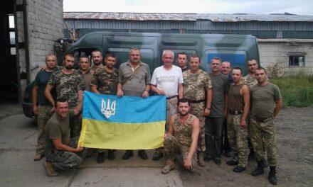 Депутати Львівської обласної ради відсвяткували День Державного прапора на Сході України
