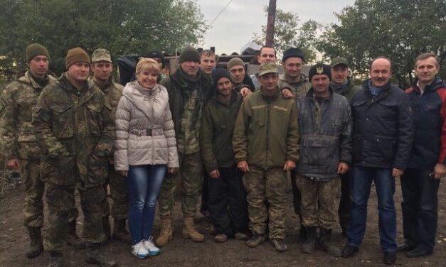 «Батьківщинівці» Львівщини передали допомогу учасникам АТО