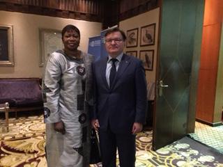 Григорій Немиря зустрівся з прокуроромМіжнародного кримінального суду