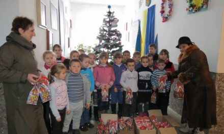 Партійці Львівщини привітали з Днем Святого Миколая дітей з малозахищених родин