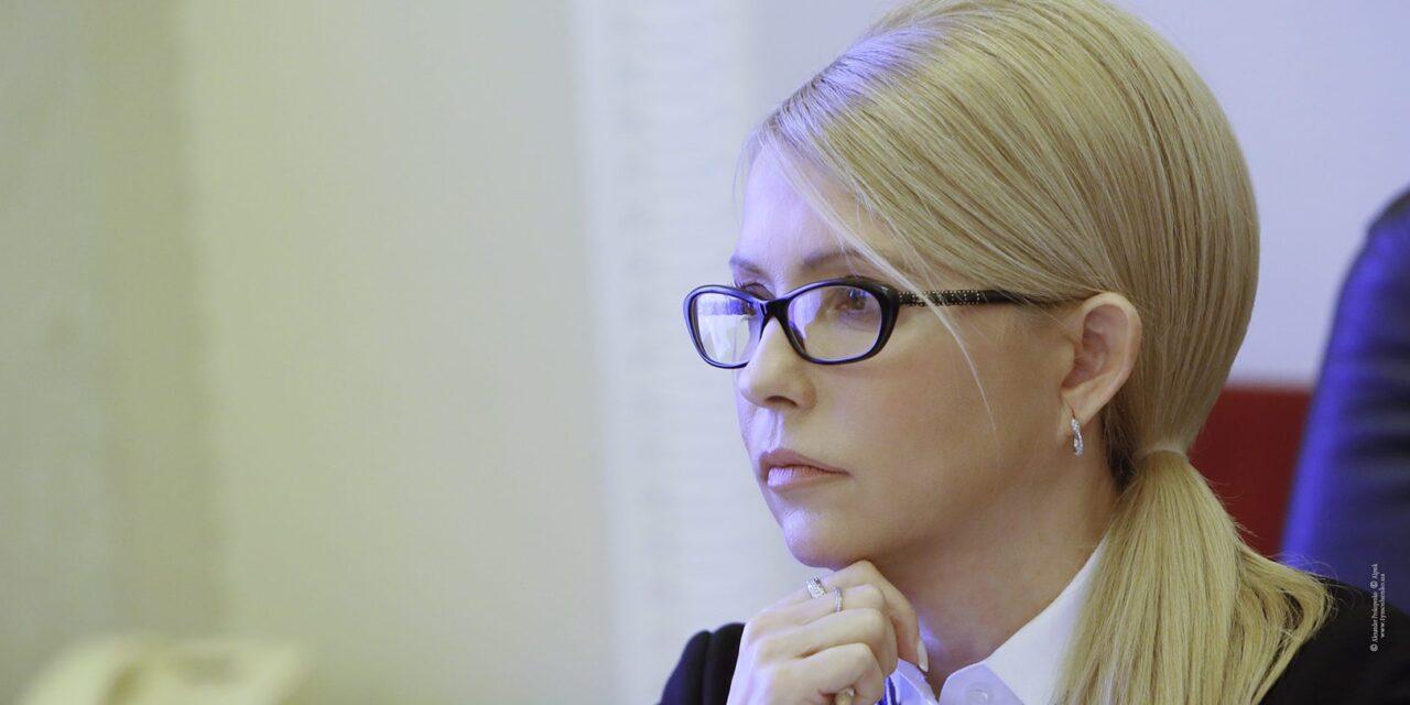 Юлія Тимошенко: Влада відкрила розпродаж землі іноземцям
