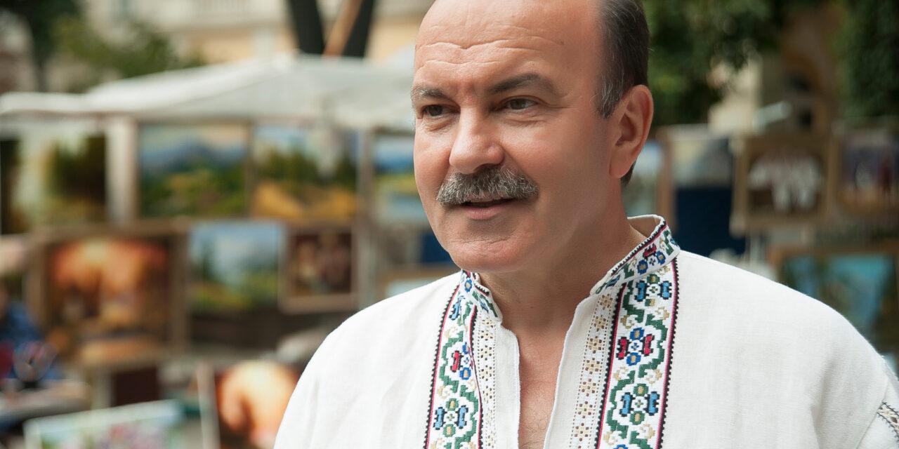Привітання Михайла Цимбалюка із Днем журналіста
