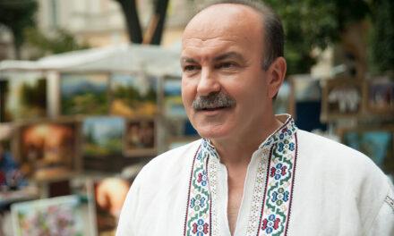 Привітання Михайла Цимбалюка з Днем Державного Прапора України