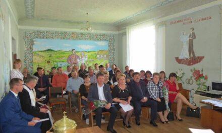 На Львівщині відбулася перша сесія селищної ради, де перемогла команда «Батьківщини»