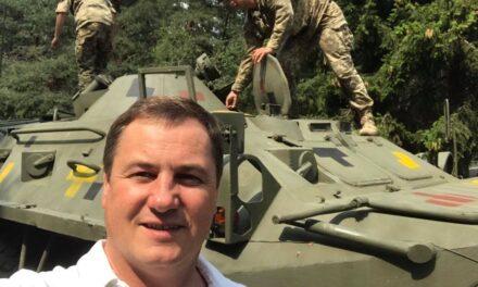 Сергій Євтушок: Відвідини військової частини в Сарнах