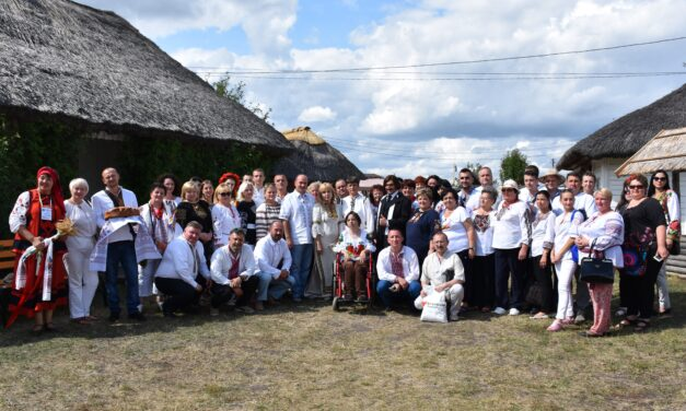 «Батьківщинівці» Львівщини відсвяткували День Незалежності на Полтавщині.