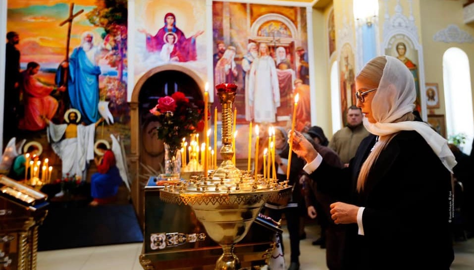 Юлія Тимошенко: Прийшов час бути щасливими! Христос Воскрес!