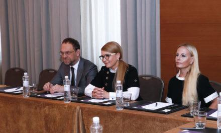 Юлія Тимошенко зустрілася зі спеціальним представником Держдепу США по Україні Куртом Волкером