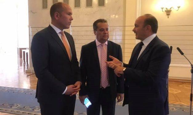Михайло Цимбалюк зустрівся з Президентом Світового Конгресу українців
