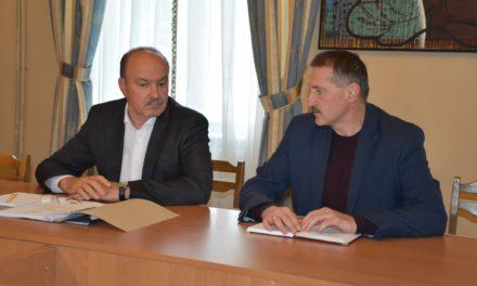 Михайло Цимбалюк відвідав Дрогобич з робочим візитом