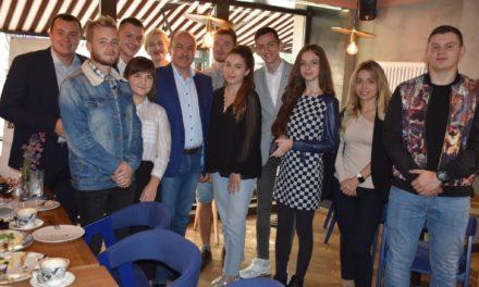 Михайло Цимбалюк зустрівся з молоддю Львівщини