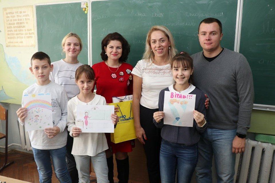 «Батьківщина» Львова організувала акцію до Дня вчителя