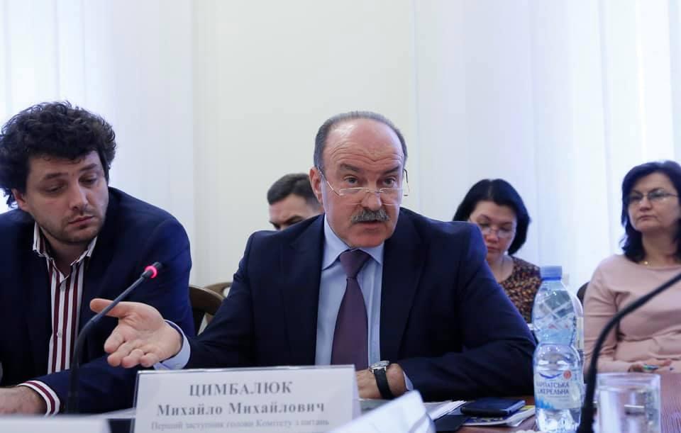 Михайло Цимбалюк: Проблеми слід вирішувати шляхом об'єднання зусиль, а не дочасними виборами