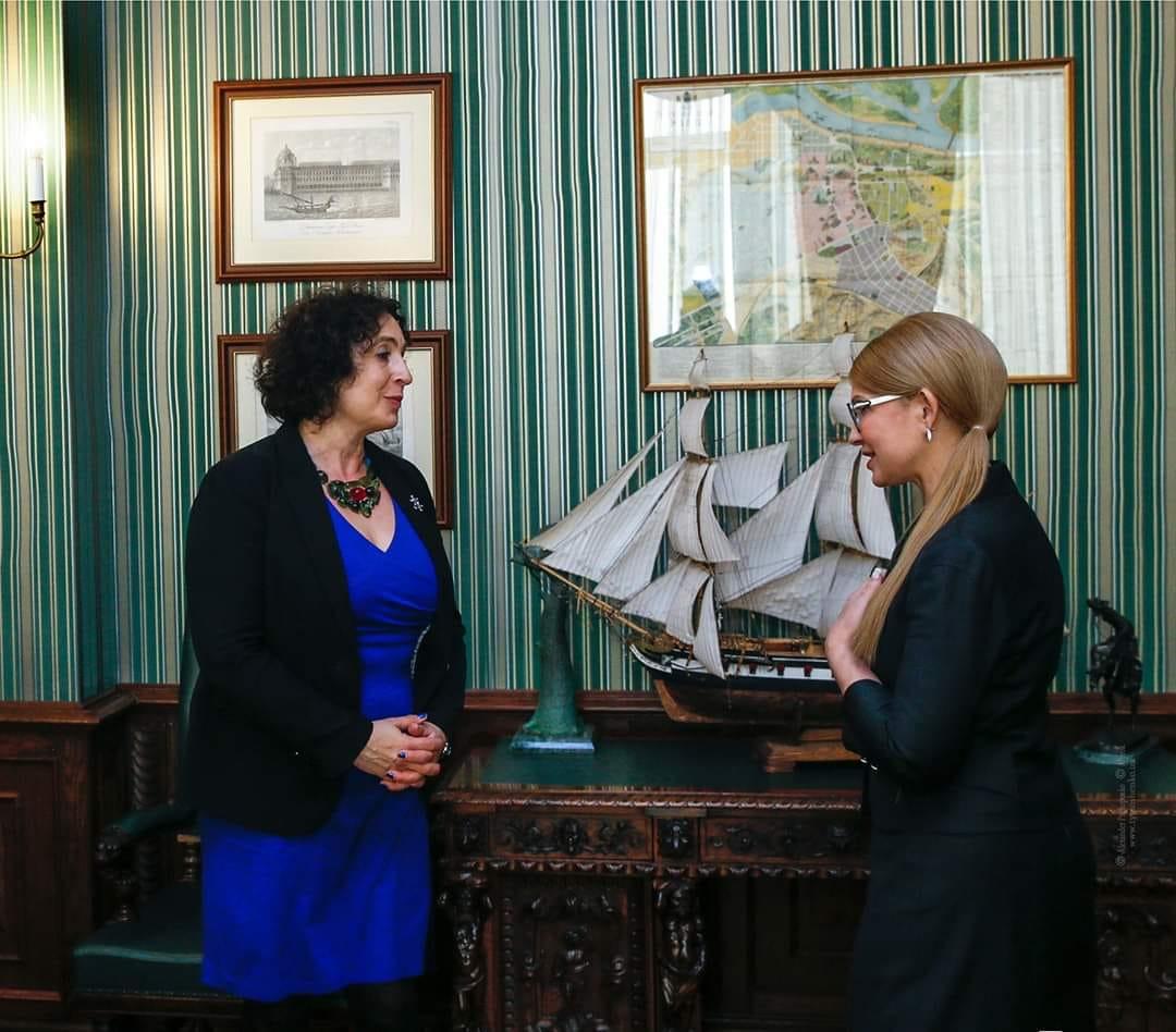 Юлія Тимошенко провела зустріч із Послом Великої Британії в Україні