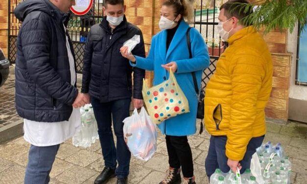 «Батьківщина» Львова продовжує допомагати інфекційній лікарні міста