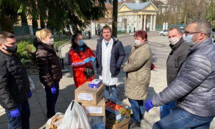 У Львові партійці «Батьківщини» об'єдналися з підприємцями для боротьби з епідемією