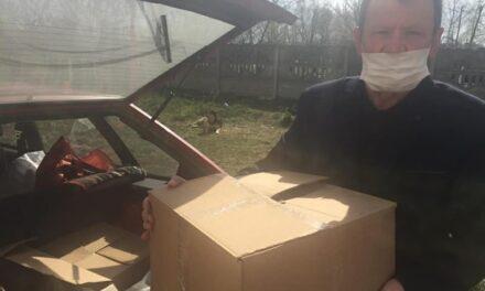 Червоноградська «Батьківщина» передала Великодні паски для одиноких мешканців міста