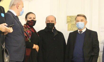 Михайло Цимбалюк вшанував пам'ять видатних дипломатів УНР/ЗУНР