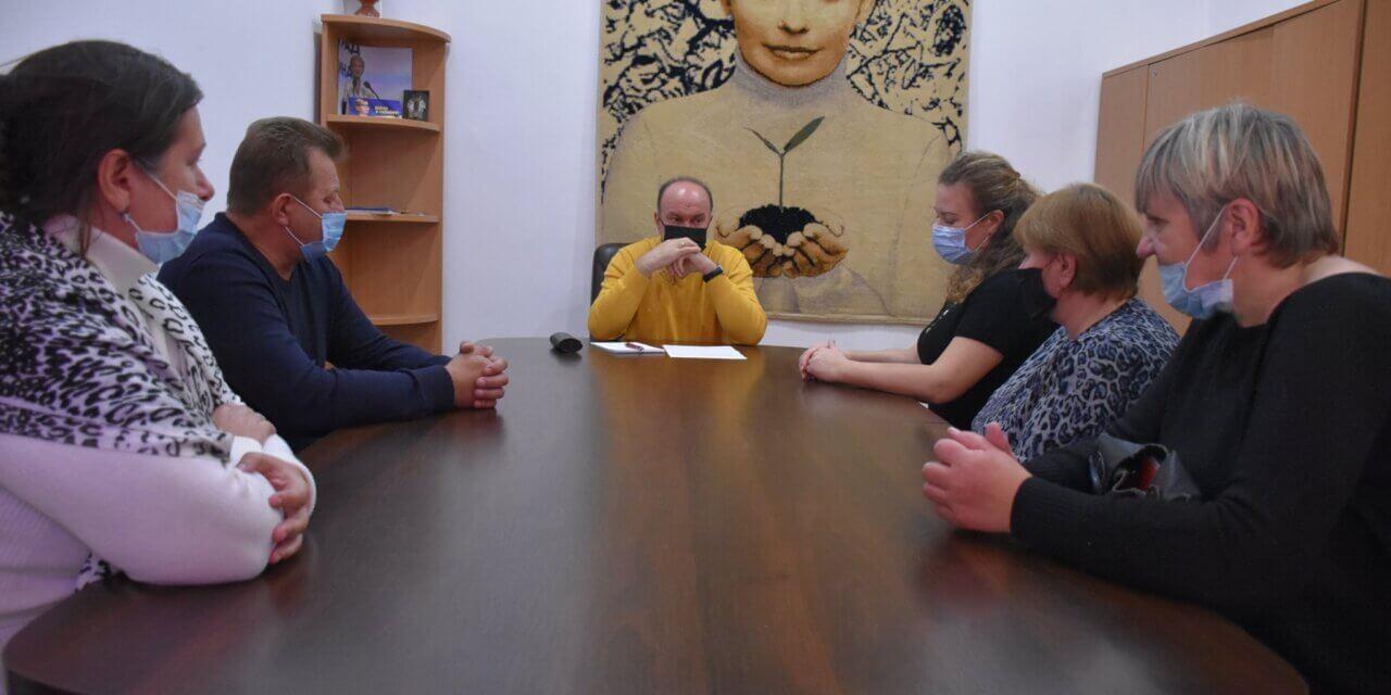 Михайло Цимбалюк зустрівся із постраждалими внаслідок Чорнобильської катастрофи