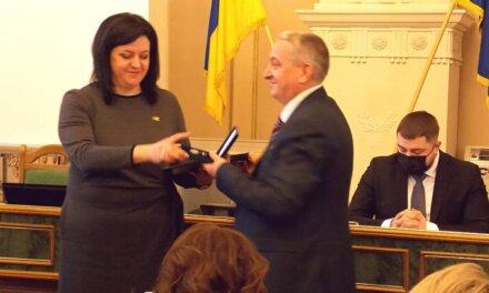 Миколу Андріїва нагородили Грамотою Веховної Ради України