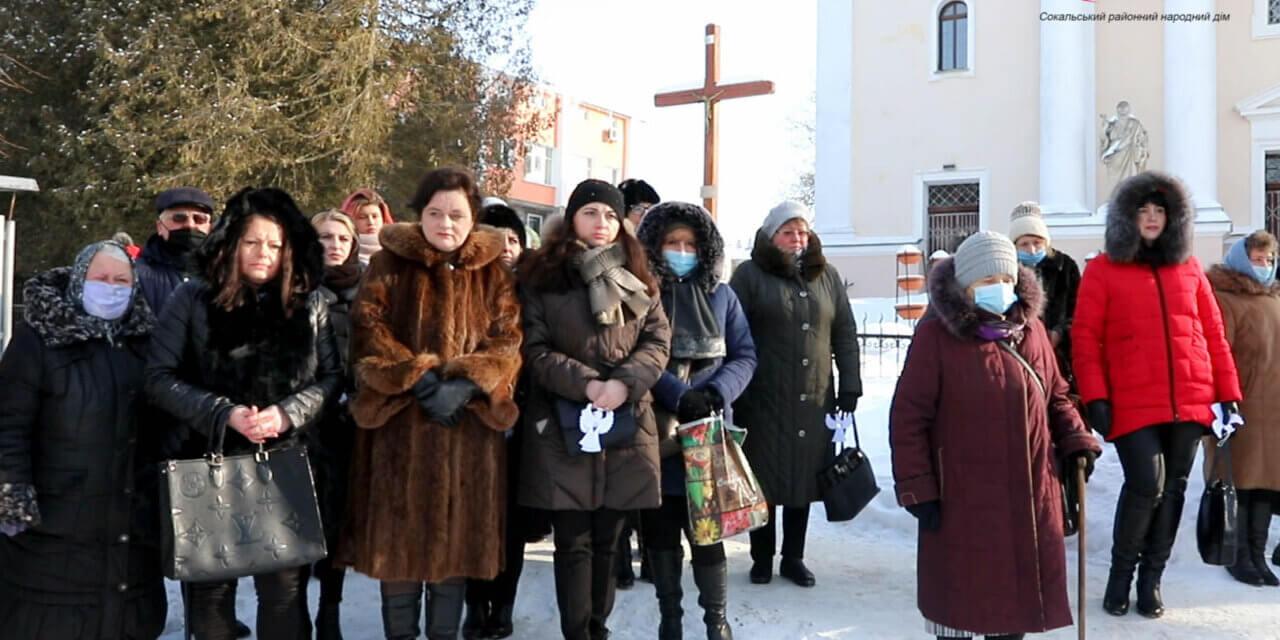 У громадах Львівщини «батьківщинівці» вшанували Небесну Сотню