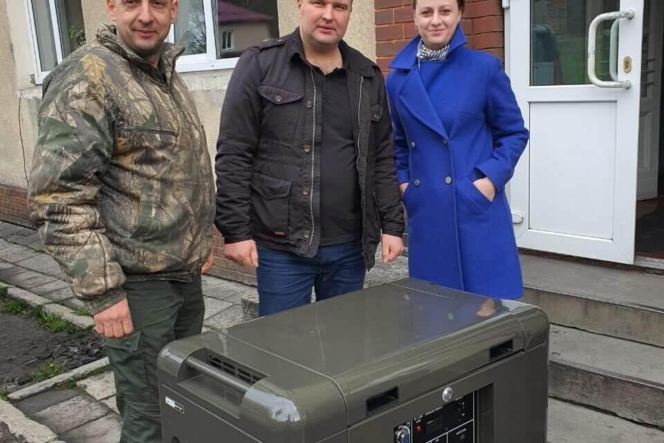 Депутат від «Батьківщини» придбав генератор для лікарні