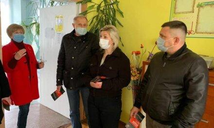 Представники обласної «Батьківщина» відвідали Червоноградський ліцей