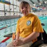 Вітаємо Антоніну Максимову з перемогами на Кубку України з плавання
