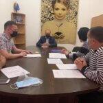 Михайло Цимбалюк зустрівся із представниками Хирівської громади