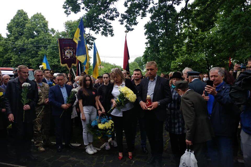 «Батьківщина» Львівського району вшанувала пам'ять Євгена Коновальця