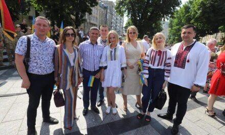 Львівська районна «Батьківщина» долучилася до відзначення 25-річчя Конституції України