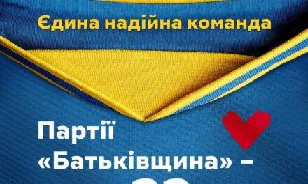 Привітання Юлії Тимошенко із 22-річчям партії ВО «Батьківщина»