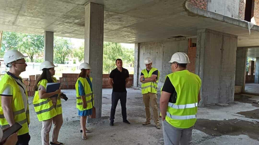 Назарій Сумало ознайомився із станом будівництва Центру швидкого реагування