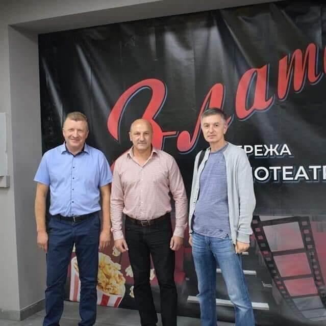 До 780-річчя міста у Самборі відбувся перший кінопоказ у новому кінотеатрі