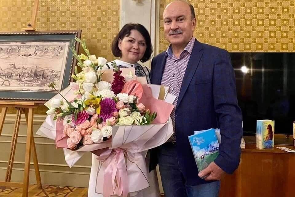 Михайло Цимбалюк взяв участь у презентації нових книжок Оксани Кузів